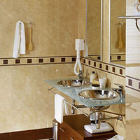 Porcelanosa Travertino Romano