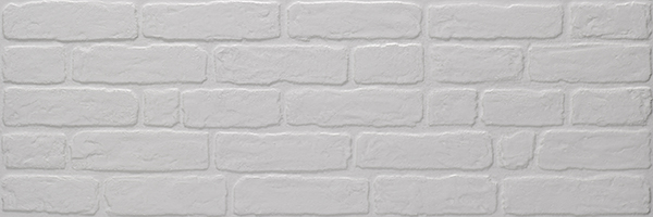 плитка, Wall Brick White, 30x90