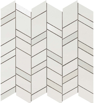 Mek Light Mosaico Chevron Wall
