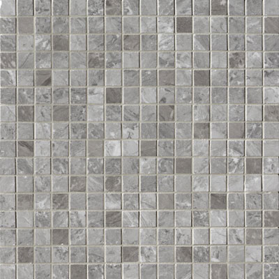 Roma Diamond Grigio Superiore Brillante Mosaico