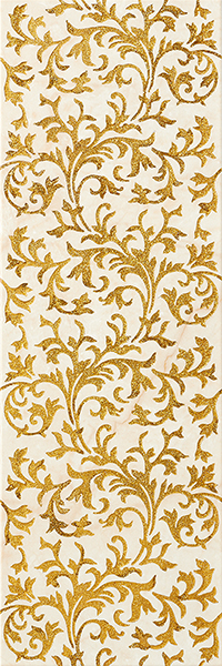 декор, LINEAGE IVORY-GOLD DECOR, 20X59,2