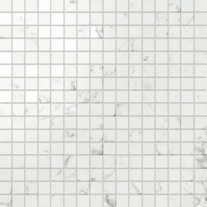 MARVEL CARRARA PURE MOSAICO LAPP.