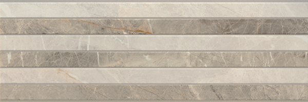 Фото: Porcelanite Dos 9520 Rect. Gris Relieve ()