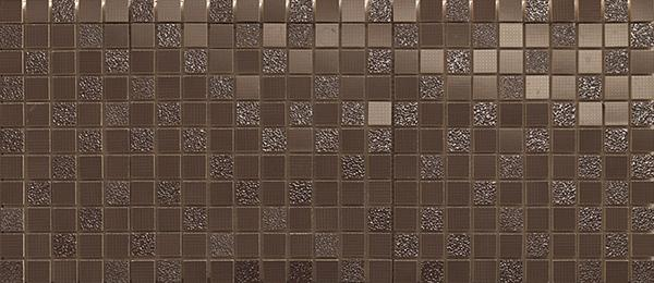 декор, E_Motion Brown Tartan Mosaico, 24x55