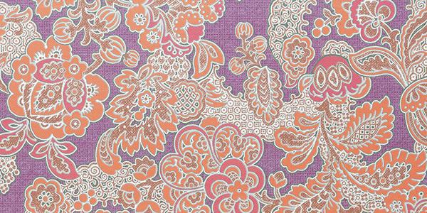декор (мм), 37427 Kashmir Lilla Fascia, 32,5x65