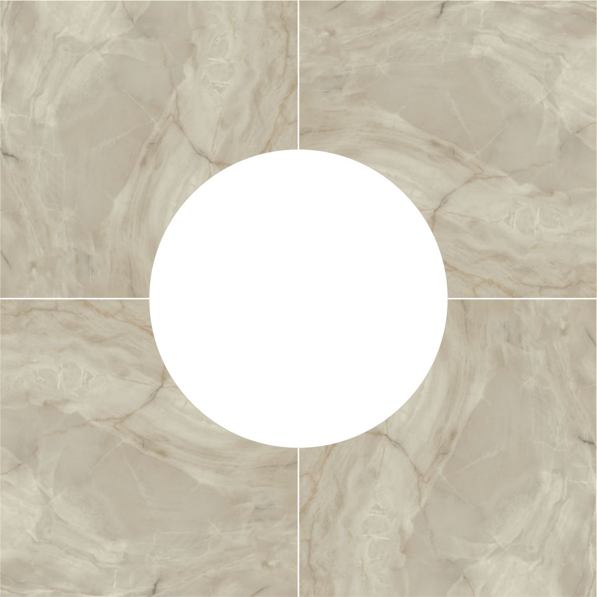 Фото: Porcelanite Dos 5021 BASE ROSETON GRIS ()